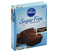 Pillsbury Brownie Mix Chocolate Fudge Sugar Free - 12.35 Oz