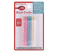 Betty Crocker Candles Relight - 12 Count