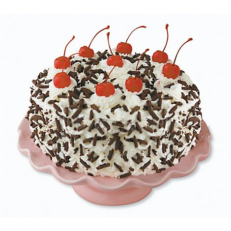 Bakery Cake 10 Inch Blackforest Cream - Each