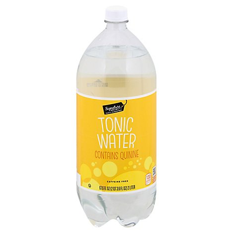 Signature SELECT Water Tonic Contains Quinine - 2 Liter