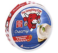 The Laughing Cow Creamy Queso Fresco Chipotle Cheese Spread 6 oz