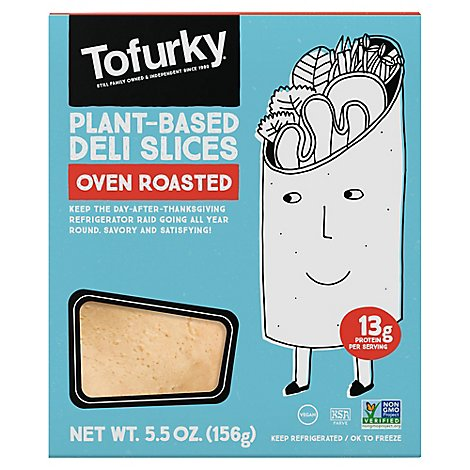 Tofurky Deli Slices Original - 5.5 Oz