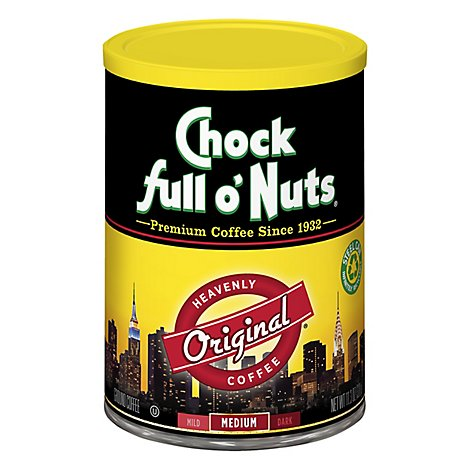 Chock full o Nuts Coffee Ground Original - 11.3 Oz