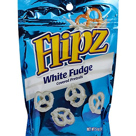 Flipz Pretzels White Fudge - 5 Oz