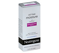Neutrogena Oil-Free Moisture Moisturizer Facial With Sunscreen SPF 35 - 2.5 Fl. Oz.