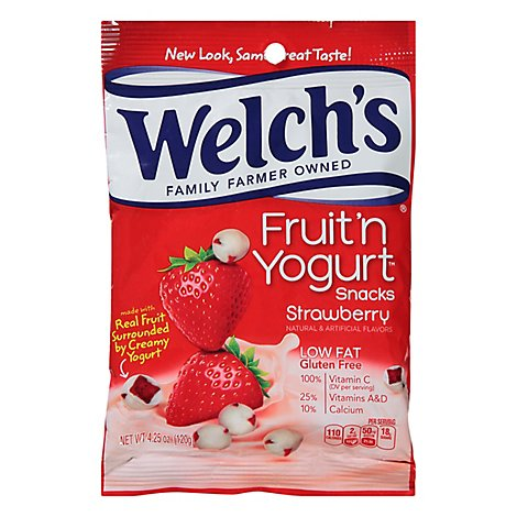 Welchs Fruit N Yogurt Strawberry Snacks - 4.25 Oz