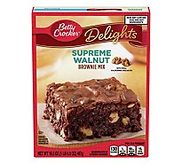 Betty Crocker Brownie Mix Delights Supreme Walnut - 16.5 Oz