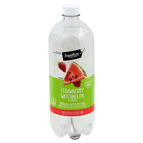 Signature SELECT Water Sparkling Strawberry Watermelon - 1 Liter