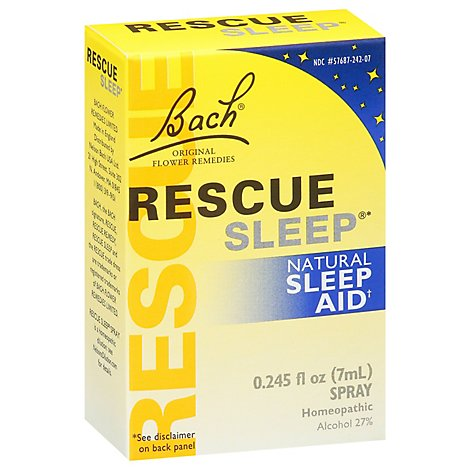 Bach Rescue Sleep - 7 Ml
