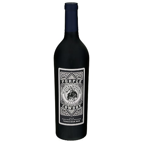 Purple Cowboy Tenacious Red Wine - 750 Ml