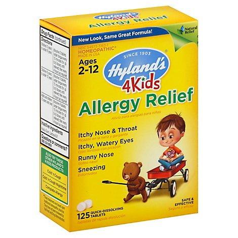 Hylands Allergy Relief For Kids - 125 Count