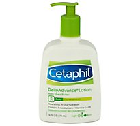 Cetaphil Lotion Daily Advance Ultra Hydrating Dry Sensitive Skin - 16 Fl. Oz.