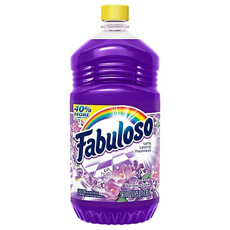 Fabuloso Multi-Purpose Cleaner Lavender - 56 Fl. Oz.