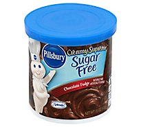 Pillsbury Creamy Supreme Frosting Chocolate Fudge Sugar Free - 15 Oz