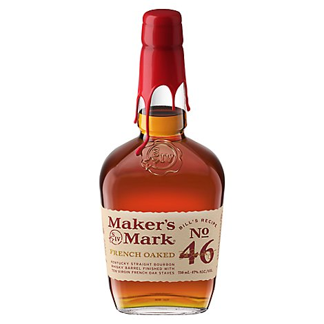 Makers Mark Whisky Bourbon Kentucky Straight 46 94 Proof - 750 Ml