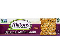 Miltons Original Multi Grain Gourmet Crackers - 12-8.3 Oz