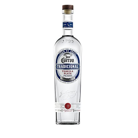 Jose Cuervo Tequila Tradicional Silver 80 Proof - 750 Ml