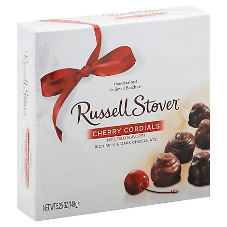 Russell Stover Candy Cherry Cordials - 5.25 Oz