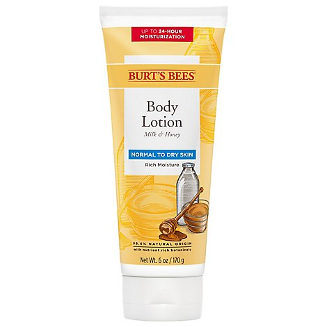 Burts Bees Milk & Honey Body Lotion - 6 Fl. Oz.