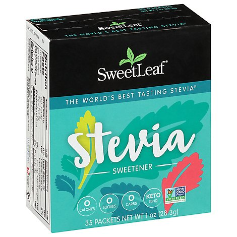 Sweet Leaf Stevia Plus - 35 Count