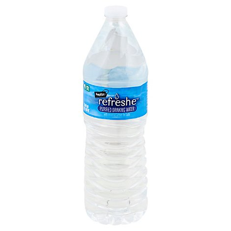 Signature SELECT Drinking Water Purified - 33.8 Fl. Oz.