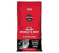 Worlds Best Cat Litter Clumping Formula Multiple Cat Bag - 8 Lb