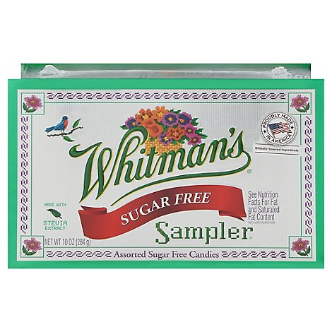 Whitmans Candies Assorted Sugar Free - 10 Oz
