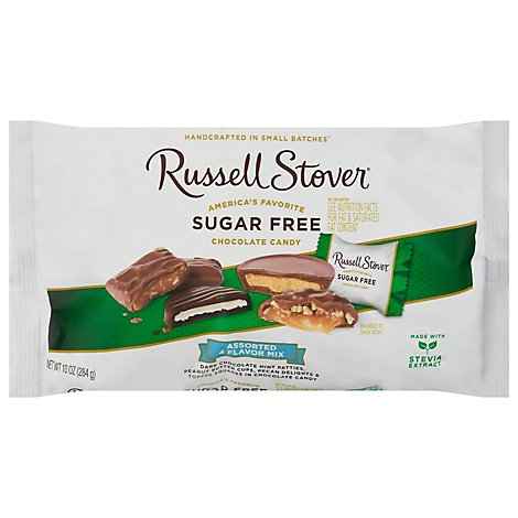 Russell Stover Chocolate 4 Flavor Mix - 10 Oz