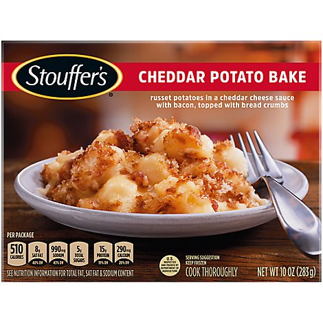 STOUFFERS Meal Cheddar Potato Bake - 10 Oz