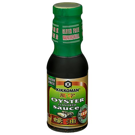 Kikkoman Sauce Oyster Gluten Free No Preservatives Added - 12.6 Oz