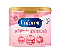 Enfamil A.R. Infant Formula Milk Based With Iron For Spit Up Powder - 19.5 Oz
