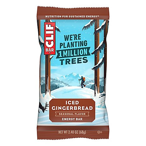 Clif Iced Gingerbread Bar - 2.4 Oz