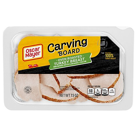 Oscar Mayer Carving Board Oven Roasted Turkey Breast - 7.5 Oz.