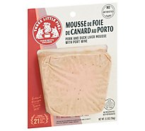 Three Little Pigs Duck Liver & Pork Mousse With Port Wine - 5.5 Oz