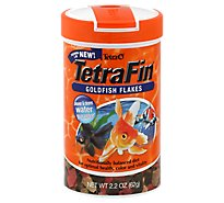 Tetra Fish Food TetraFin Goldfish Flakes Jar - 2.2 Oz