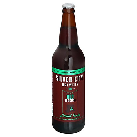 Silver City Brewery Fat Woody Scotch Ale Bottles - 22 Fl. Oz.