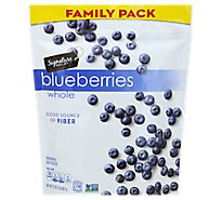 Signature Kitchens Unsweetened Whole Blueberries - 32 Oz