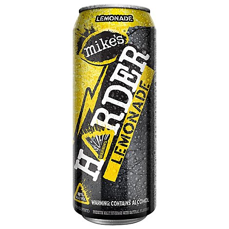 Mikes Harder Lemonade In Cans - 16 Fl. Oz.