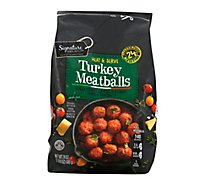 Signature Kitchens Meatballs Turkey - 24 Oz
