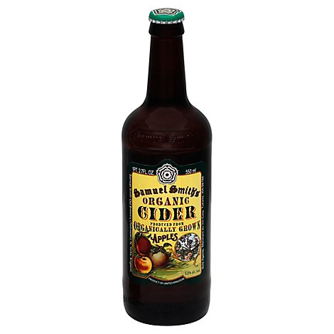 Samuel Smith Organic Cider Bottles - 18.7 Fl. Oz.