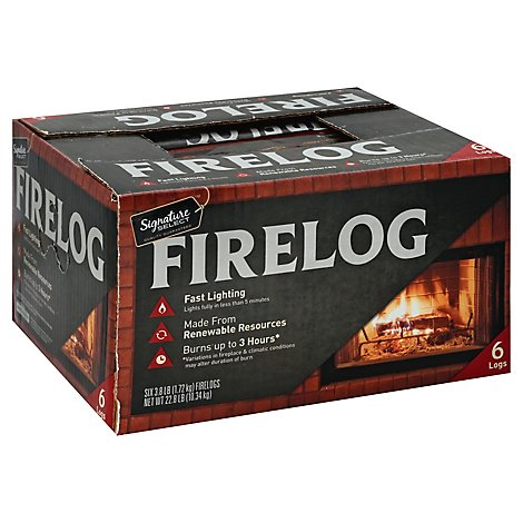 Signature SELECT Firelog Natural - 6-3.8 Lb
