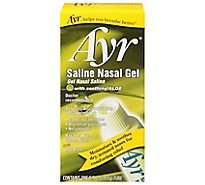 Ayr Nasal Gel Saline with Soothing Aloe - 0.5 Oz