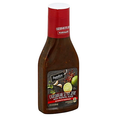 Signature SELECT Jerk Marinade Caribbean - 12 Fl. Oz.