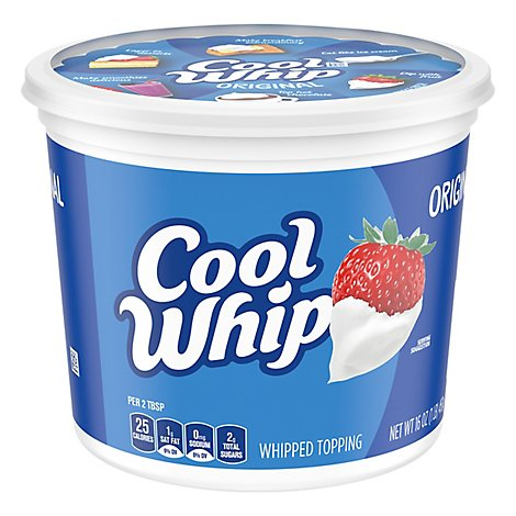 Cool Whip Whipped Topping Original - 16 Oz