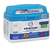Signature Care advantage Infant Formula Milk Based Powder Birth To 12 Months - 23.2 Oz