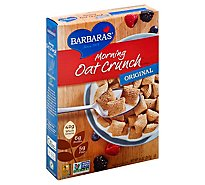 Barbaras Cereal Morning Oat Crunch Original - 14 Oz