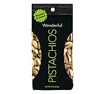 Wonderful Pistachios Roasted & Salted Bag - 8 Oz