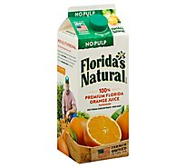 Floridas Natural Orange Juice No Pulp Chilled - 52 Fl. Oz.
