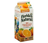 Floridas Natural Orange Juice Some Pulp Chilled - 52 Fl. Oz.