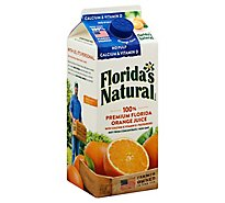 Floridas Natural Orange Juice No Pulp with Calcium & Vitamin D Chilled - 52 Fl. Oz.